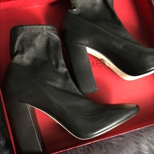 Tamara Mellon Shoes - Tamara Melon Stretch Leather Boots